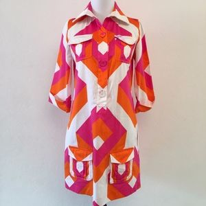 Diane von Furstenberg Multicolor Shirt Dress 2
